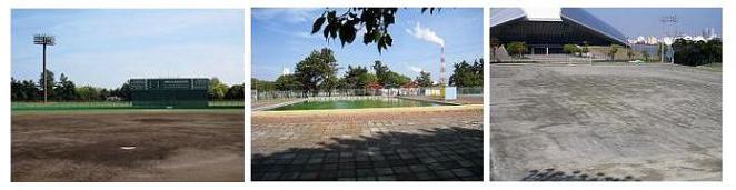 霞ケ浦緑地公園運動施設